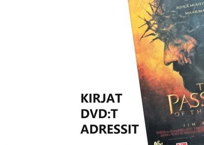 Kirjat  Dvdt  Adressit